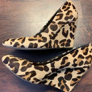 Jessica Simpson Shoes - Jessica Simpson Minna Leopard Wedge
